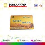 Carte RFID à double fréquence / carte d'interface double / carte Gold / Hico Carte magnétique / carte d'identité / carte haute fréquence / carte-clé d'hôtel (échantillons gratuits)