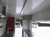 Напольный трейлер кухни стекла волокна быстро-приготовленное питания передвижной с малым киоском торгового автомата еды