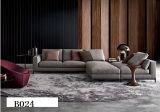 Sofa moderne de tissu avec la forme d'U pour le sofa faisant le coin