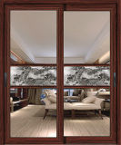 Elegante Form-graue Luxuxfarben-Aluminiumschiebetür