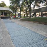 Гальванизированная стальная решетка для платформы дорожки и крышки стока