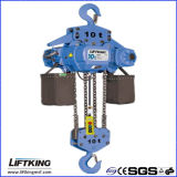15 T Lifting Capacity Electric Chain Hoist con Hook Suspension