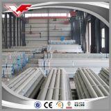 Tubulação de aço galvanizada estufa