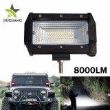 Barre d'éclairage LED de l'inondation 5inch 72W d'exploitation de camion de jeep d'ATV SUV