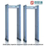 De alta resistencia de la puerta 300 Nivel Arco detector de metales con 24 zonas para la seguridad financiera
