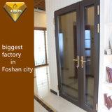 Foshan City Double vitrage Profil en aluminium la porte de sécurité