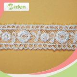 刺繍の普及した柔らかく豪華な高品質は純レースをカスタマイズする