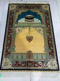 Tappeto di seta fatto a mano per preghiera 230 linee