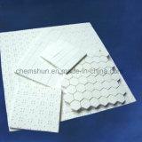 esteira quadrada cerâmica da telha da alumina resistente abrasiva de 92% & de 95%