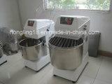 Prix commercial de mélangeur de la pâte mélangeur spiralé de 25 kilogrammes 64 litres