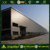 고층 강철 건축 조립식 산업 공장은 판매를 위해 흘렸다