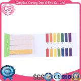 Laboratoire jetables précise les bandelettes de test de pH