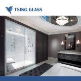 Kupfer farbiger halb transparenter Spiegel Glas