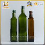Le prix de gros de bonne qualité de bouteille en verre d'huile de l'olive 750ml (1112)