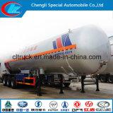 ASME 60 CBM CBM remolque cisterna de gas para el transporte de gas Gas