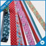 衣類かギフト用の箱に使用する異なったカラーによって編まれるリボン