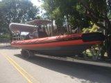 Aqualand 30feet 9m 군 경비정 또는 늑골 배 (RIB900)
