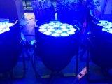 クラブ党のための1つのフルカラーの防水同価ランプに付き18PCS 4つ