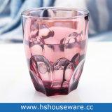Vasos de vidrio de color de gafas de Whiskey.