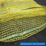 Gelbe PET 45*75 Raschel Säcke für Verpackungs-Kartoffeln
