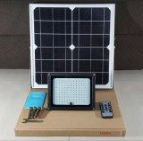 2018 리모트를 가진 태양 정원 빛 Outdopor 50W 60W 태양 LED 플러드 빛