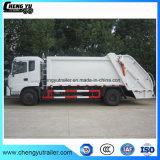 De Vuilnisauto van het Type van Compressie van de Vrachtwagen van de Pers van het Afval van de Chassis van Dongfeng