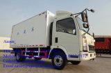 Vrachtwagen van de Koeling van de Vrachtwagen van de Lading van de Dieselmotor van Sinotruk HOWO 4X2 de Lichte