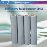 Le transfert de chaleur différentes couleurs PVC PU Glitter rouleaux de vinyle réfléchissant T-shirt en vinyle de gros