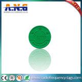 NFC Coin Tags 13.56MHz para el transporte público y los Tokens Metro