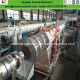 Sj90 SJ120 SJ150 de la extrusora de plástico de HDPE espiral de la producción de tubos de cartón ondulado