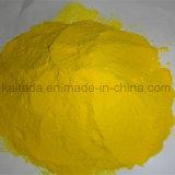 Poli polvere di colore giallo del cloruro di alluminio