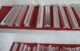 Borosilicat-Profil-Glasgefäß u. Rod