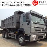 HOWO 쓰레기꾼 트럭 336HP 6X4 25 톤 무거운 덤프 트럭
