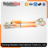 Ce GS ISO 2 Duim de Oranje Band van 5000 Kg neer met het Plastic Handvat van de Pal