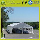 Tienda transparente modificada para requisitos particulares del PVC de la aleación de aluminio de Ridge