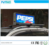 Anúncio superior do táxi da indicação digital 3G/4G GPS do diodo emissor de luz P3