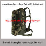 Preiswerte China-Armee-Grün-Großhandelstarnung taktischer Molle Nylon-Rucksack