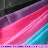 Tafetá colorido do poliéster para para baixo a tela do forro do revestimento