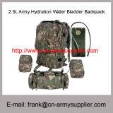 Backpack пузыря воды оптового дешевого оводнения армии 2.5L Китая воинский