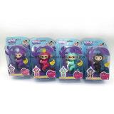 아이를 위한 지능적인 다채로운 핑거 원숭이 선물 장난감