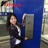 Teléfono Emergency Knzd-16 para el término de autobuses del aeropuerto del metro