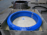 Excavatrice New Holland E145, cercle de rotation anneau pivotant, roulement de pivotement