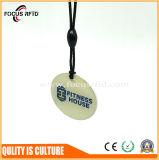 접근 제한을%s Qr Barcode를 가진 방수 PVC RFID Keyfob