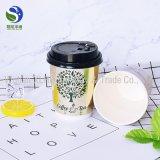 Custom от поддающихся биохимическому разложению кофе одноразовые контейнеры бумаги с крышками