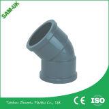 중국 매끄러운 간 벽 PVC 미끄러짐 연결기 가격 PVC-U 이음쇠