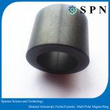 Imán de anillo radial sinterizado de varios polos permanente del motor de la ferrita