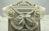 Abnehmbare Perlen-Spitze-Muffen kleidet Appliques-Kleid-Kleid-Zubehör