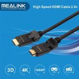 180 Hochgeschwindigkeits-HDMI Kabel der Grad-Umdrehungs-(Support 4K, HDMI 2.0)