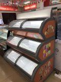 Helado de alta calidad Mostrar congelador