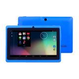 Allwinner A33 7 pulgadas Android 4.4 Tablet PC Quad Core con 1 GB de almacenamiento de 16 GB Dos cámaras de alta definición de pantalla